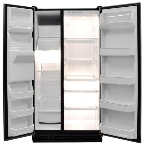 refrigerator inside. the inside of fridge is quite standard; we\u0027ve tested a lot fridges that look exactly same. refrigerator -