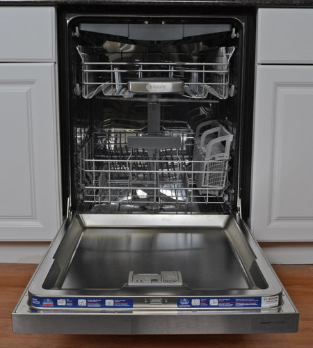 Bosch She68tl5uc Dishwasher Review Reviewed Com Dishwashers