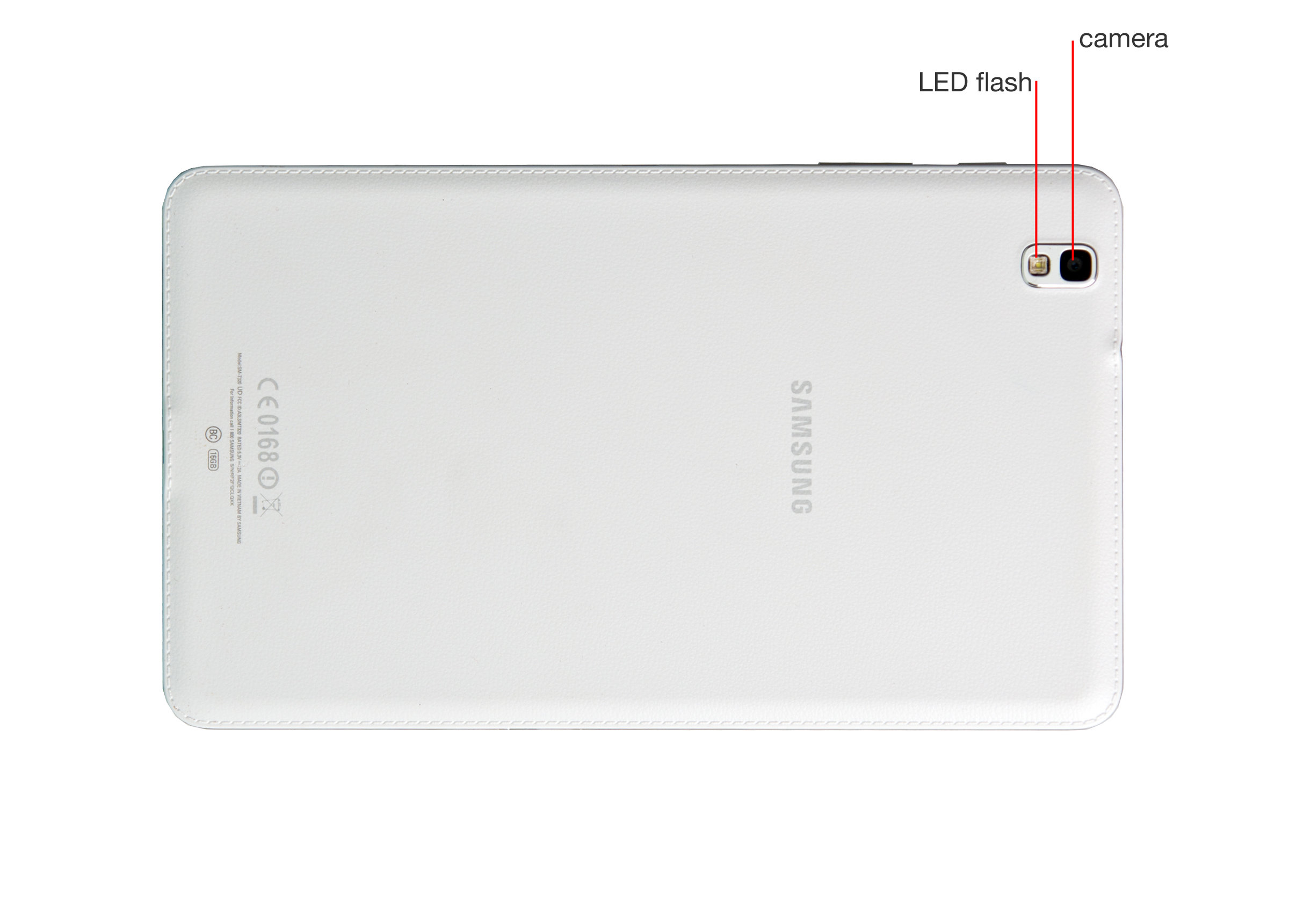 "A closer look at the Samsung Galaxy Tab Pro 8.4""."