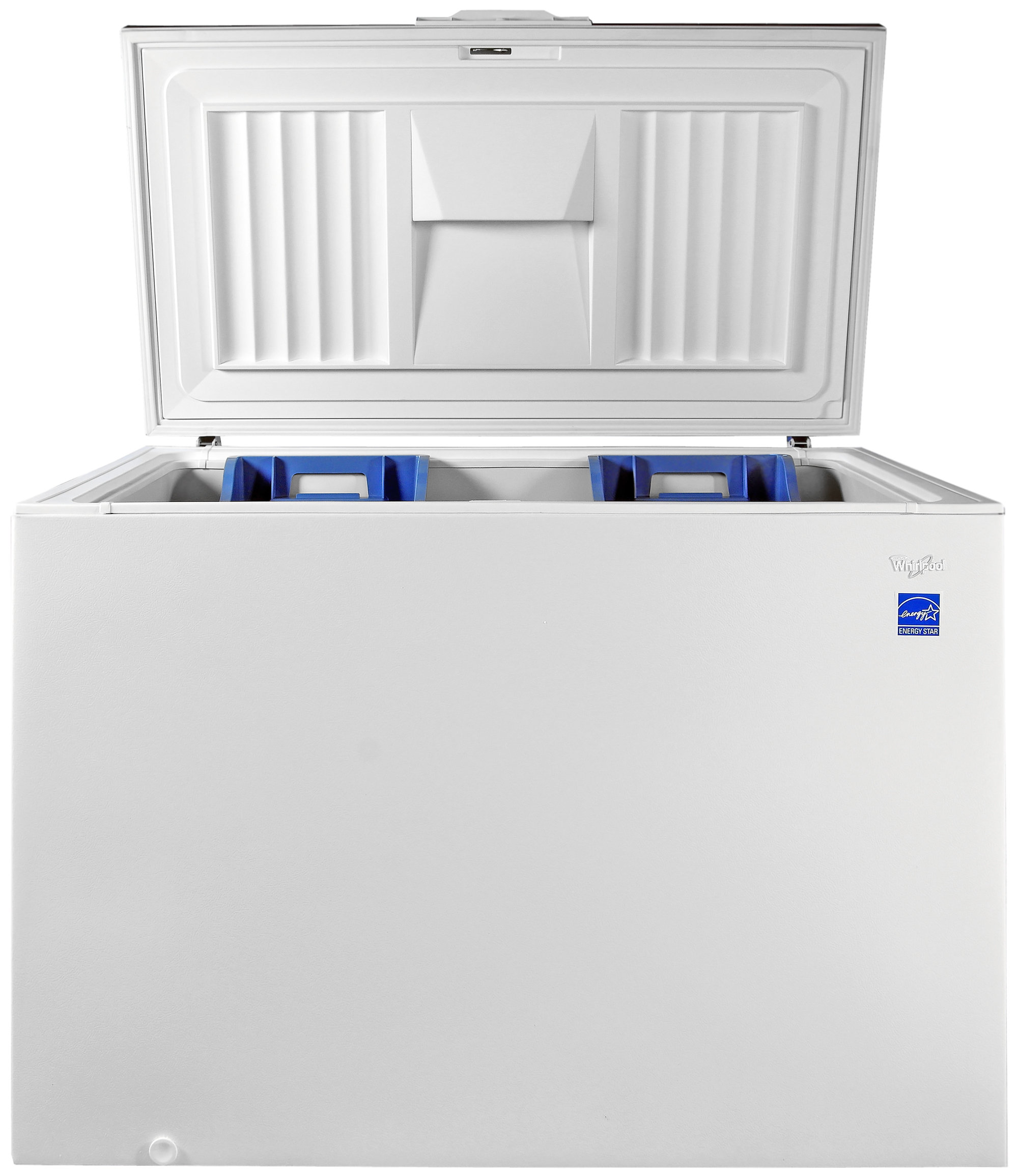 The lid on the Whirlpool EH151FXTQ doesn't feature an internal light.