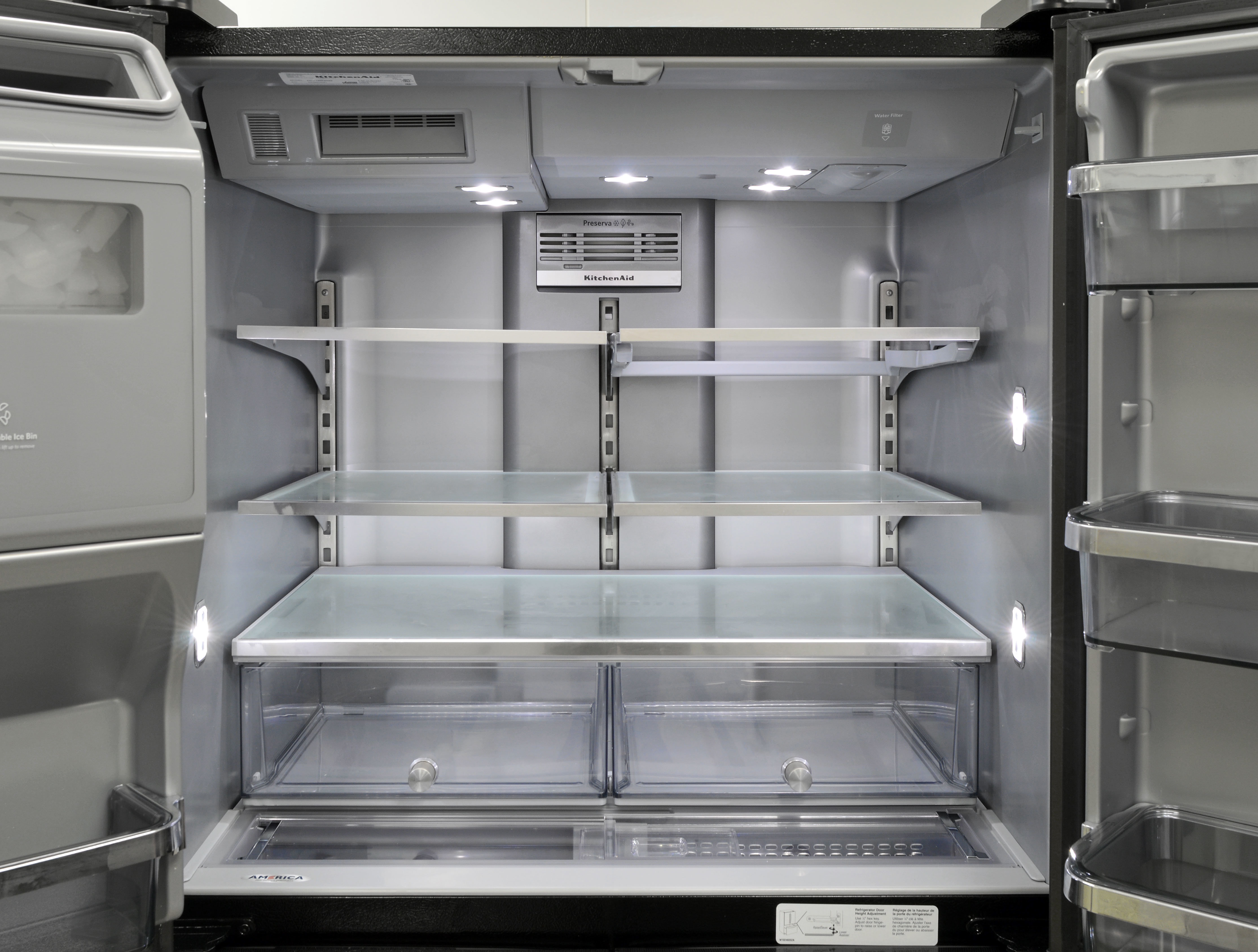 Kitchenaid Krmf706ebs Refrigerator Review Reviewed Com