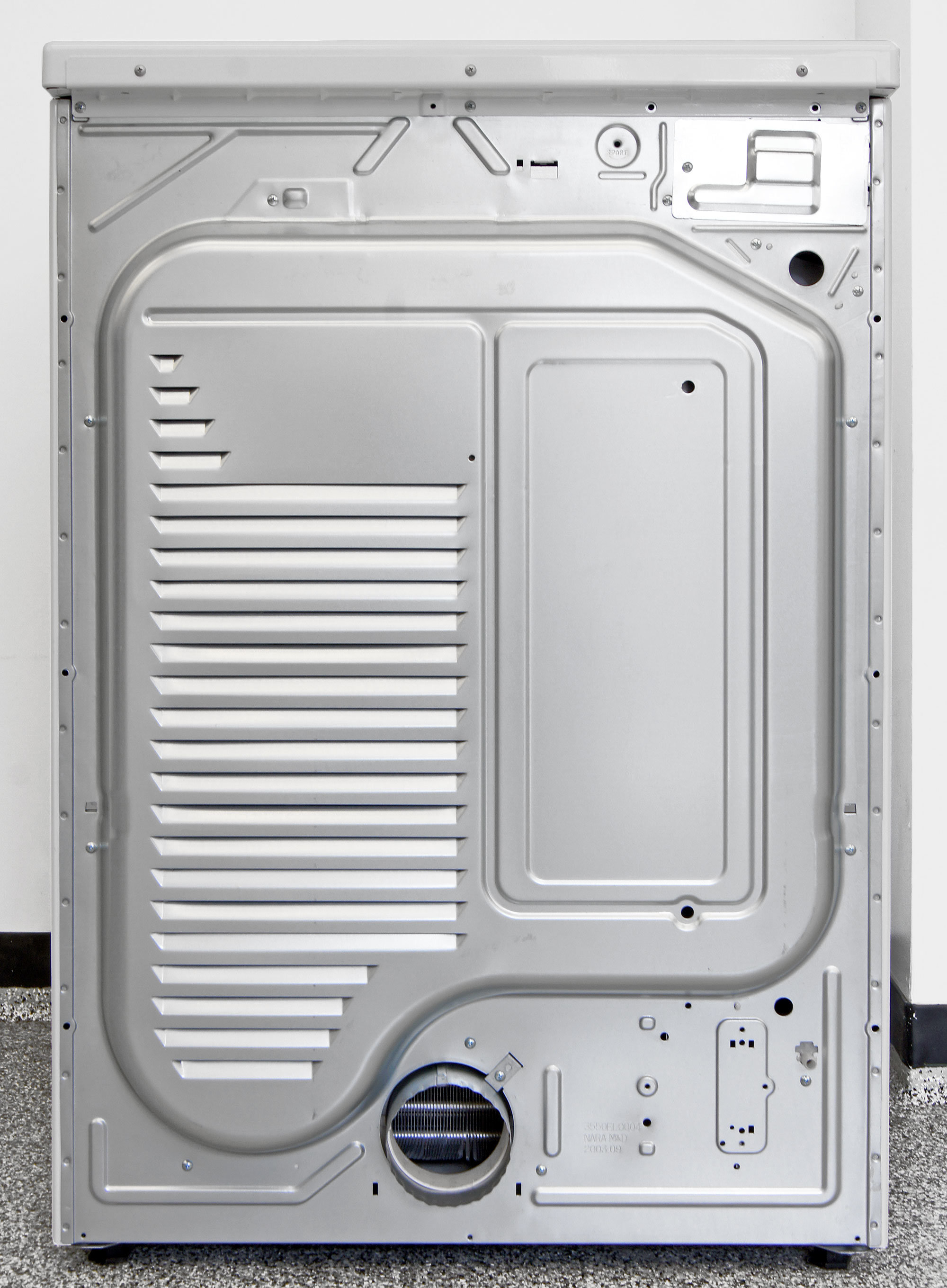 You hook it up using a traditional vent, as well as a small water output for when the heat pump is active.