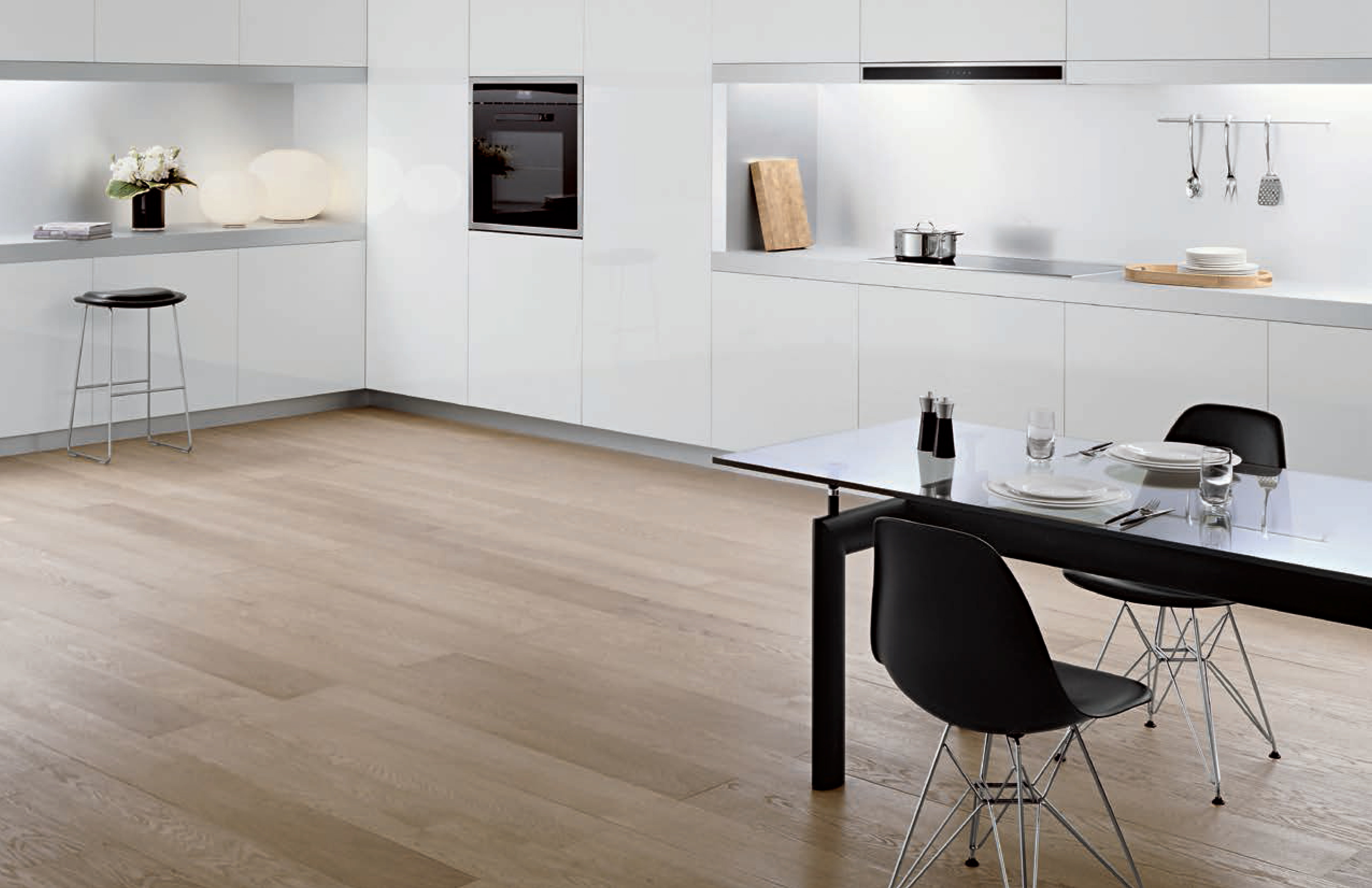 A modern look using Bertazzoni's Design Series appliances.