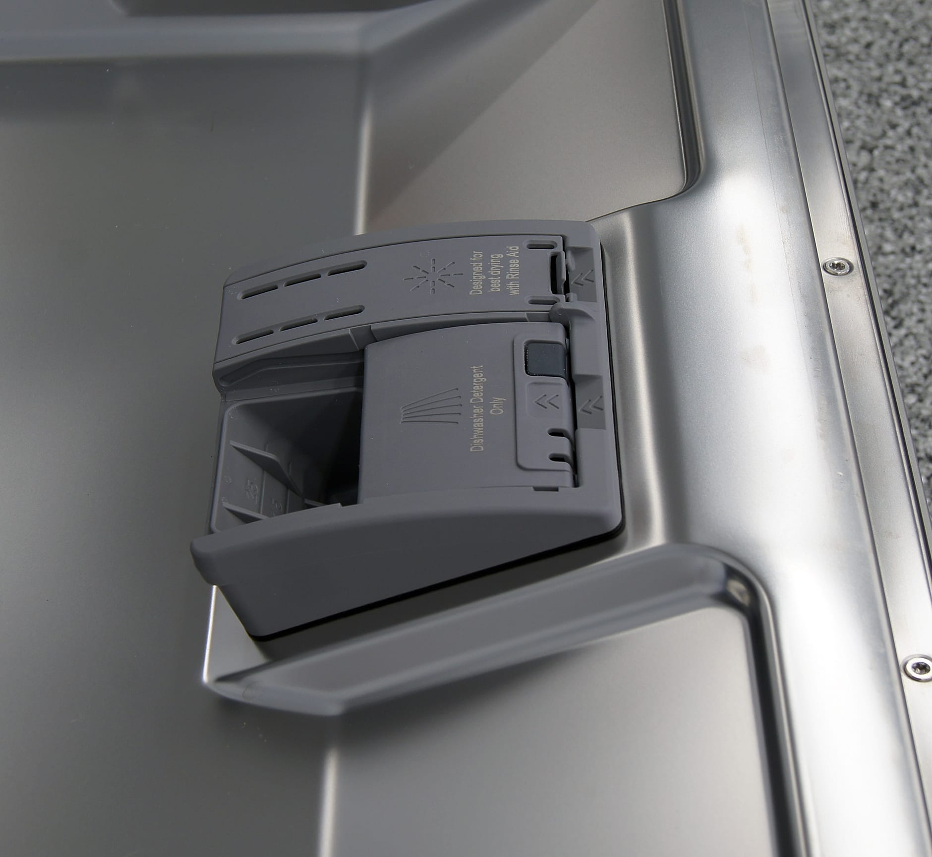 Bosch SHX4AT75UC detergent and rinse aid dispenser