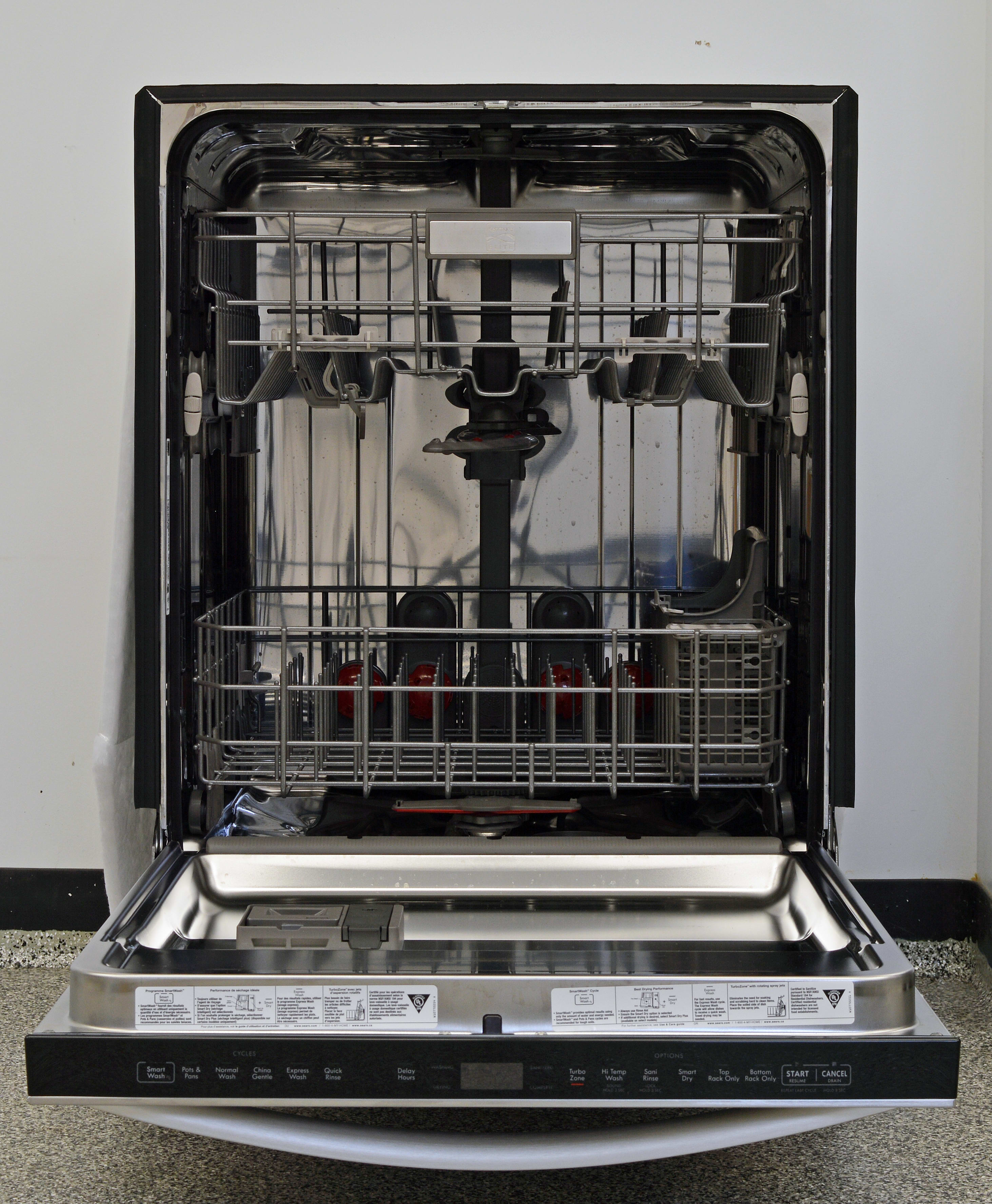Kenmore Elite 14753 Dishwasher Review Reviewed Com