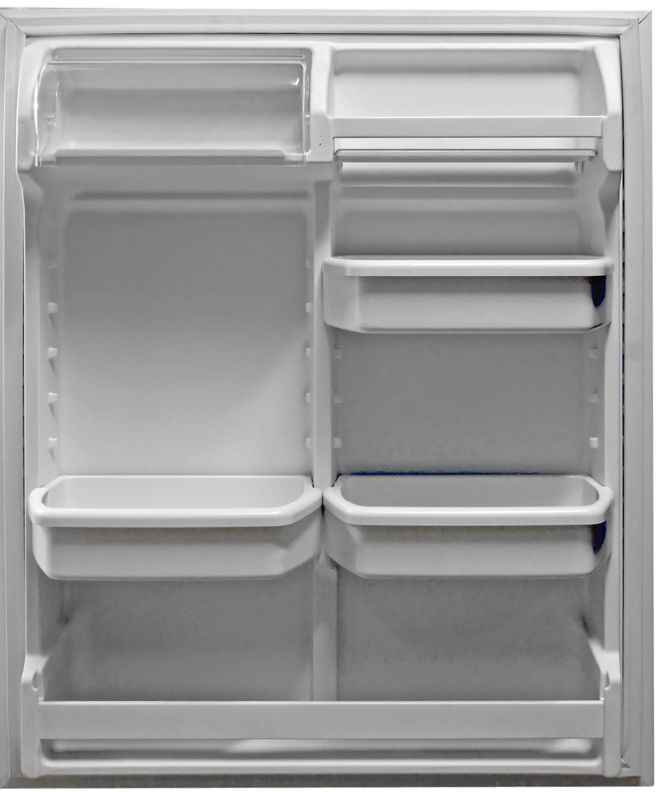 Lots of adjustable door shelves—three of which are gallon-deep—provide the bulk of the Kenmore 72152's customizable storage.