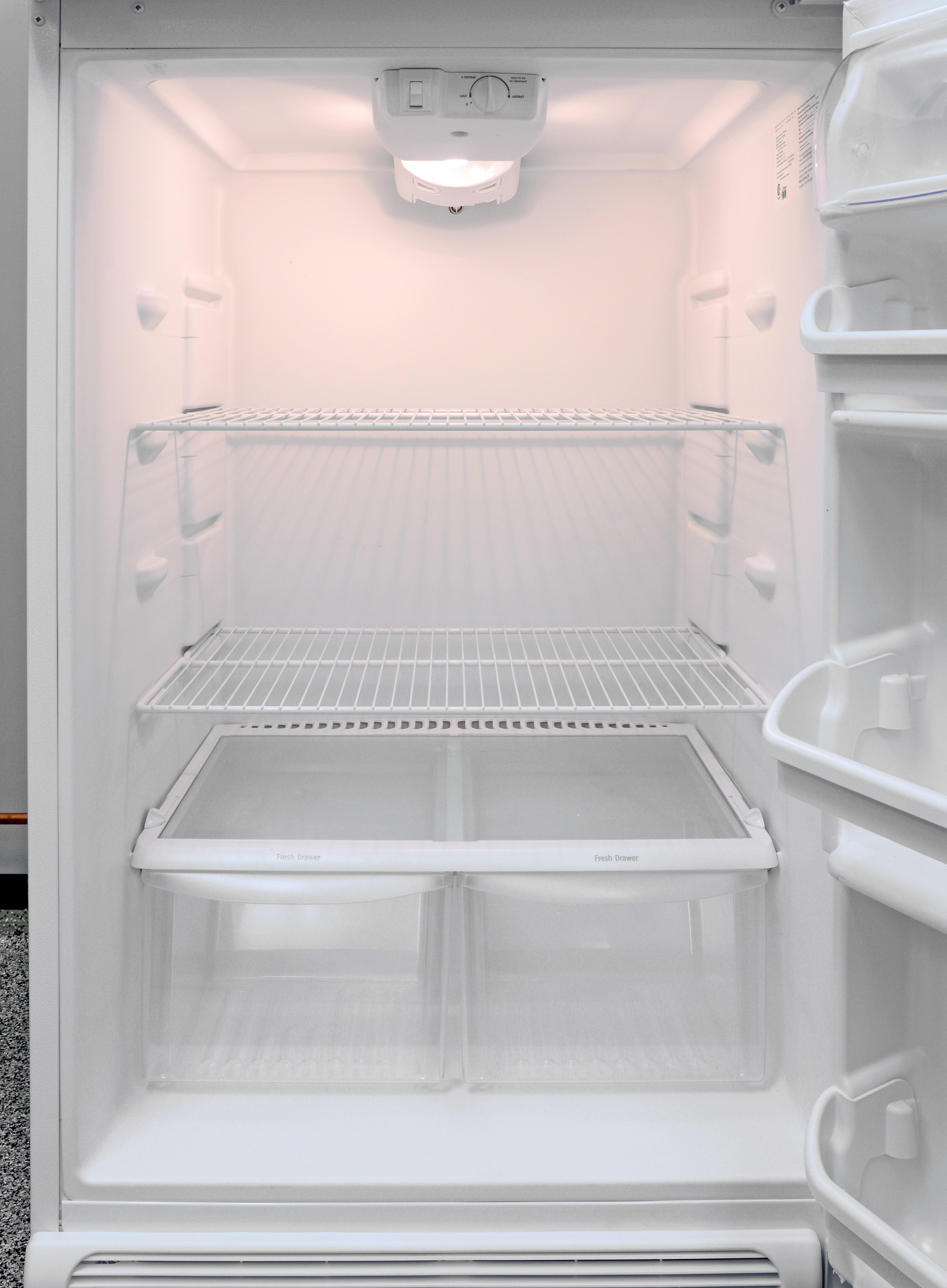Frigidaire FFTR1814QW Refrigerator Review - Reviewed.com Refrigerators