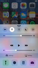 Screen Brightness (iOS Control Center)