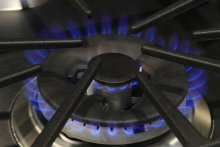 GE PGS920SEFSS Tri-Ring Burner