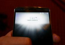 LG G Flex 2 Lock Screen