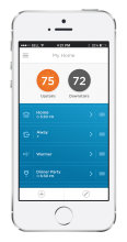 Lyric Smart Thermostat App for iPhone 5S