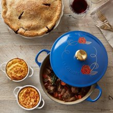Le Creuset Beauty and the Beast soup pot