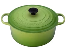 Le Creuset's Palm Green Finish