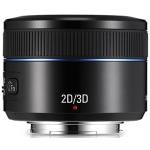 Samsung 45mm f:1.8 2d:3d