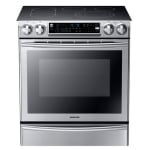 Samsung ne58f9710ws:aa slide in%20electric range with flex duo oven