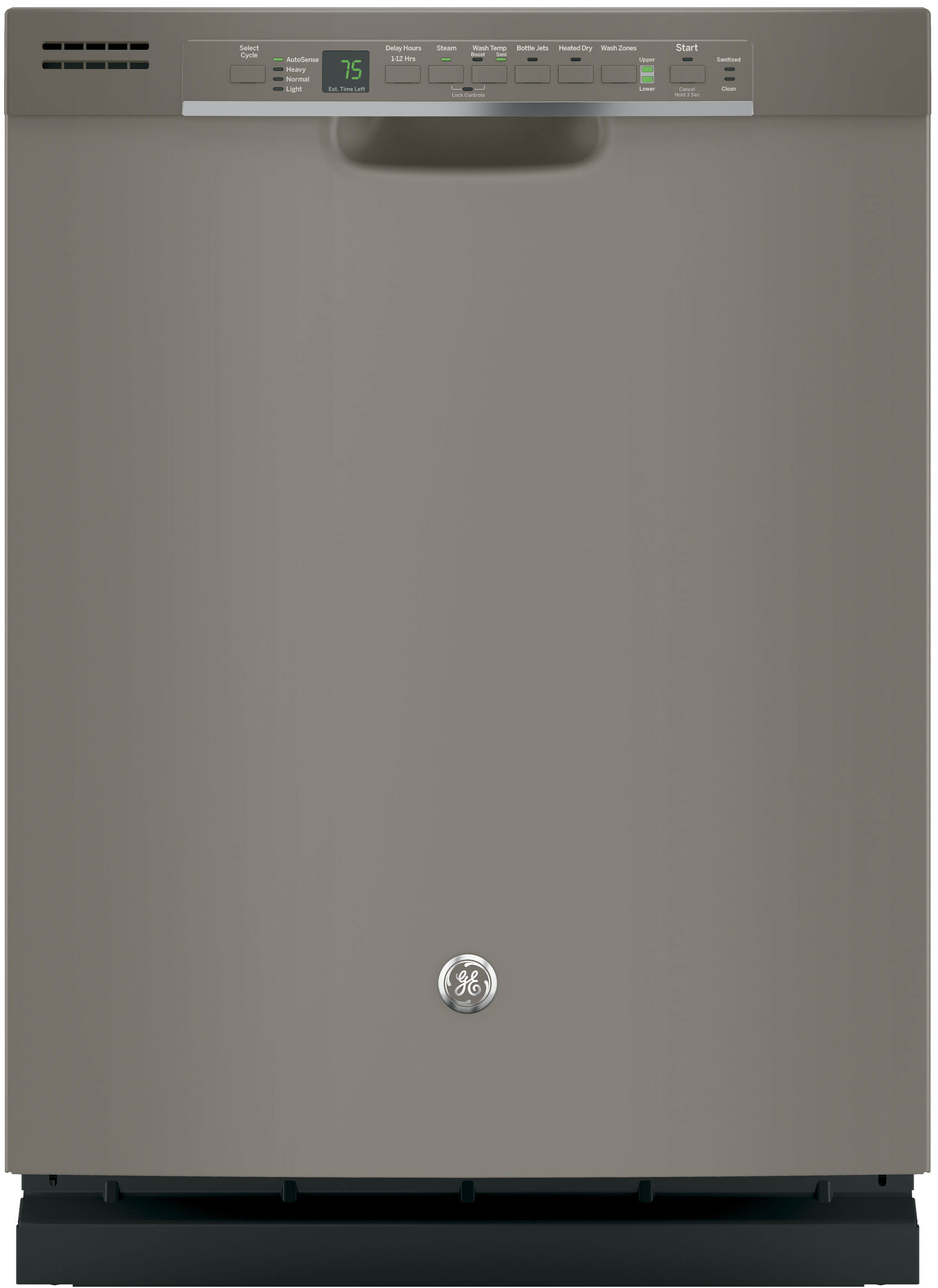 GE also has a slate option, which sells for the same as regular stainless—about $450 at its cheapest.