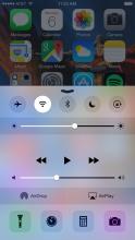 Screen Brightness (iOS Control Center)