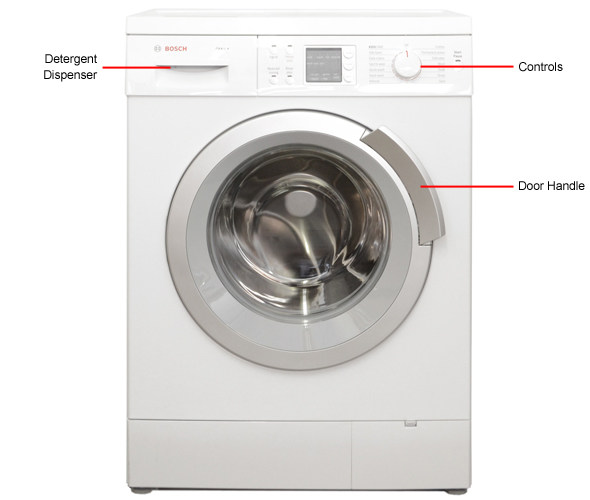 Bosch Washing Machine Stackable bosch axxis was24460us review - reviewed laundry