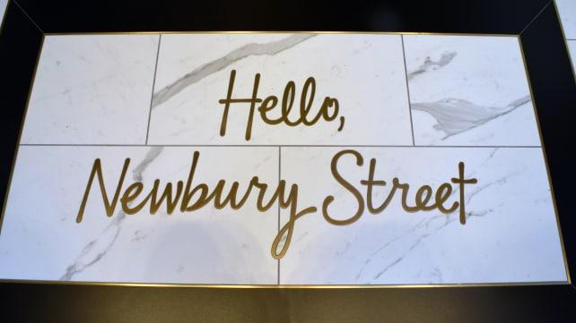 Hello Newbury Street