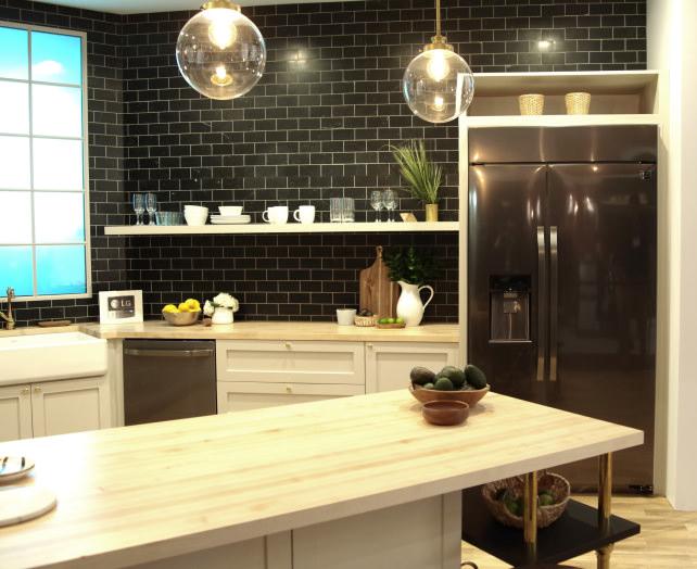LG Studio kitchen designed by Nate Berkus