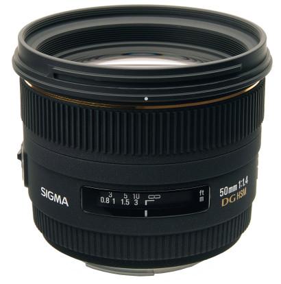 Product Image - Sigma 50mm f/1.4 EX DG HSM