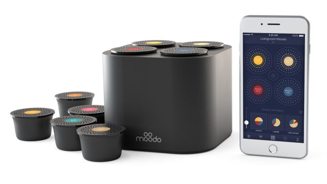 Moodo smart home fragrance box