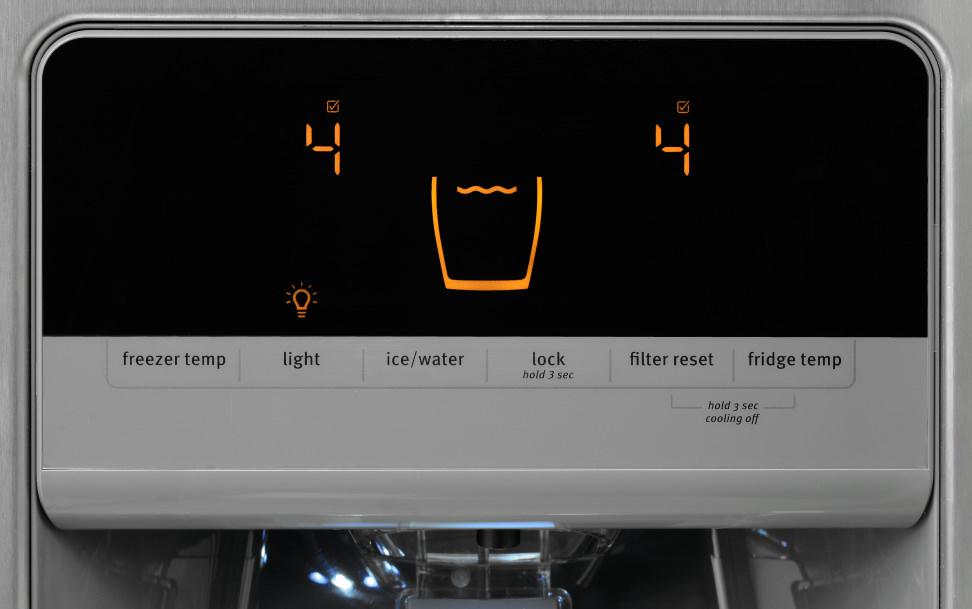 Maytag MSF21D4MDM Controls