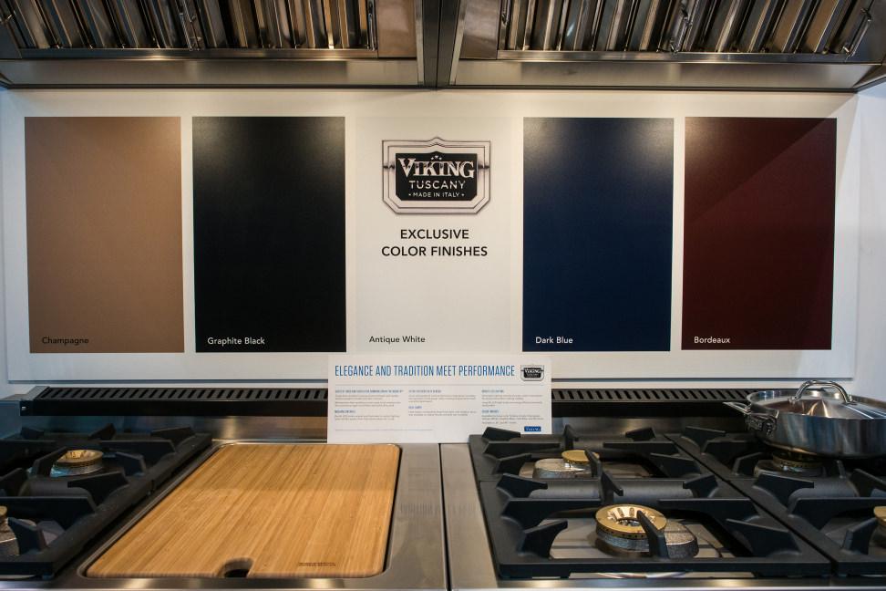 Viking Tuscany Range –Color Options
