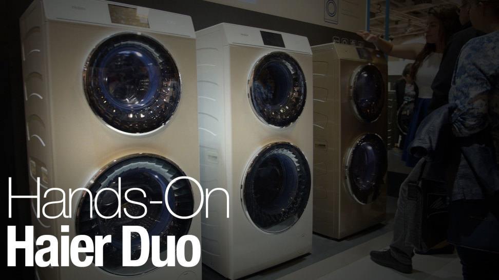 Haier Duo C8 W12u1 Washing Machine First Impressions