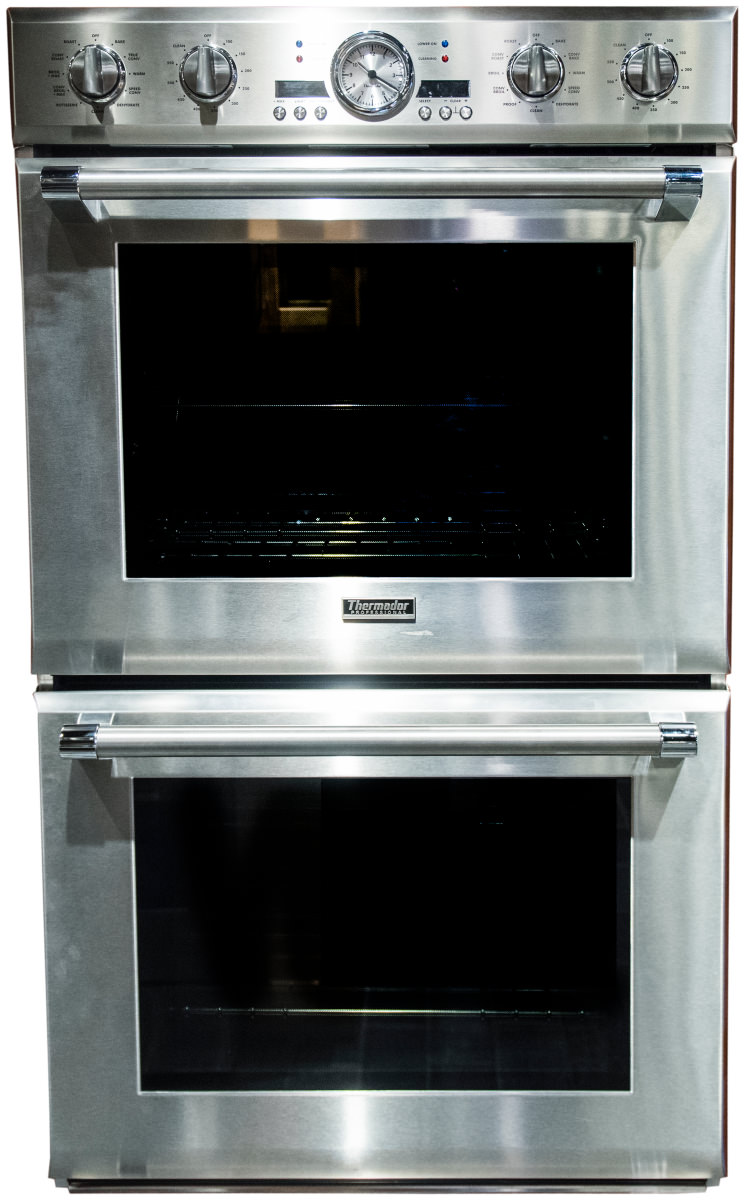 the thermador podc302j electric double wall oven