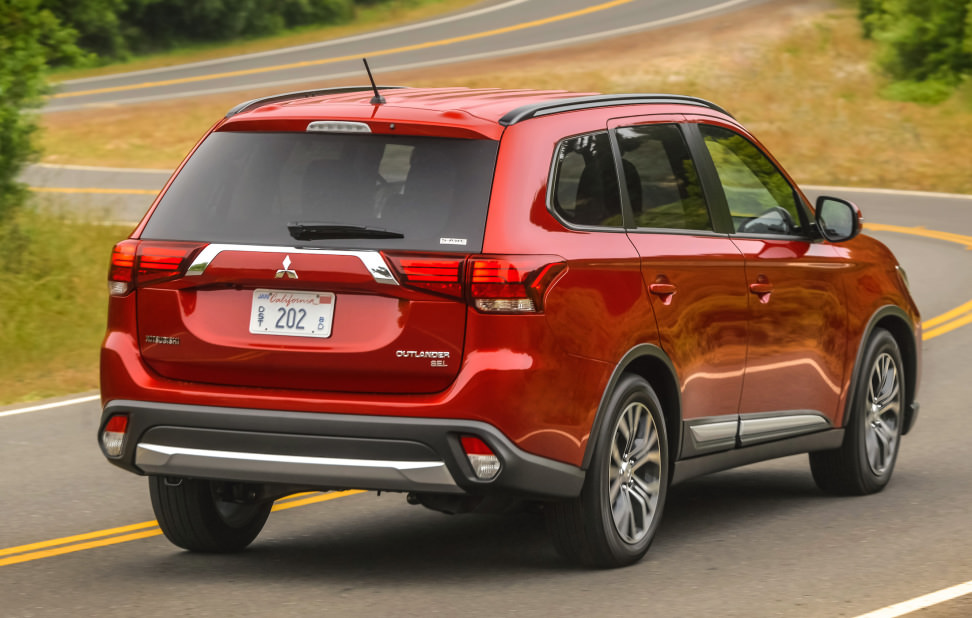 2016 Mitsubishi Outlander Rear