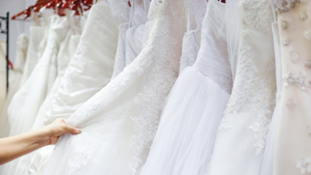 Buy your wedding dress on Amazon