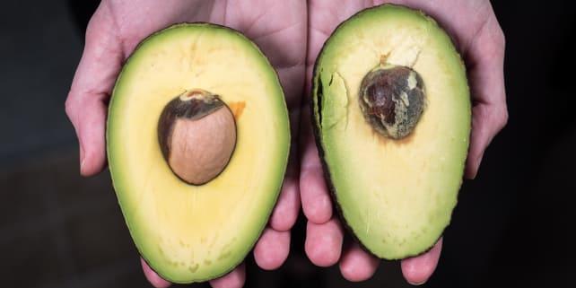Riper avocado