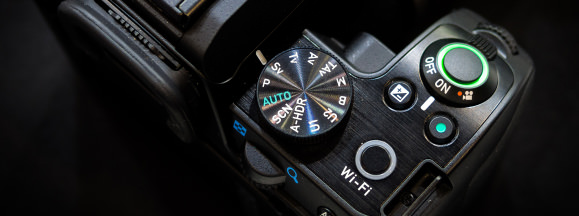 Pentax k s2 top controls hero