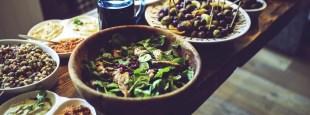 Food salad healthy vegetables hero