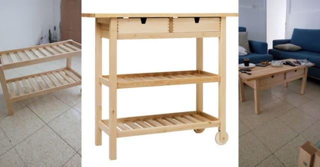 Ikea-Forhoja-kitchen-cart