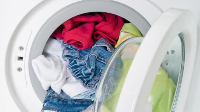 Clothing-in-dryer