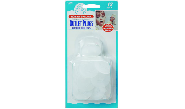 Mommy's Helper Outlet Plugs, 12 Pack