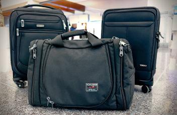 Carry on luggage hero