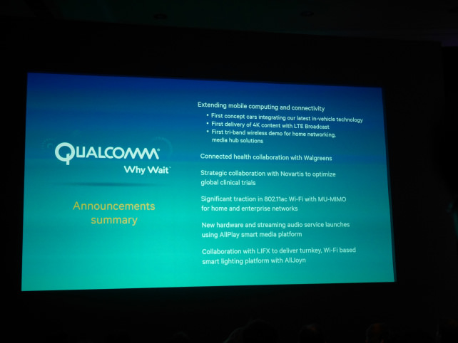 Qualcomm Expansion Summary