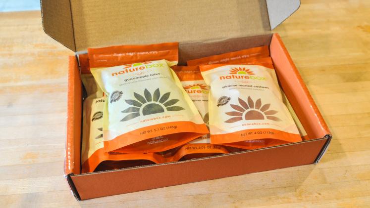 reviewed naturebox 39 s healthy snack subscription service refrigerators. Black Bedroom Furniture Sets. Home Design Ideas