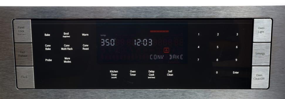 Bosch HBL8451UC Controls