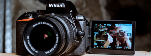 Nikon d5500 review design hero
