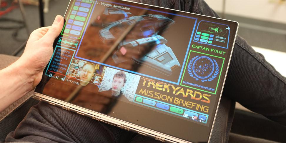 Lenovo Yoga 910 tablet mode