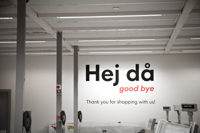 Goodbye, Ikea!