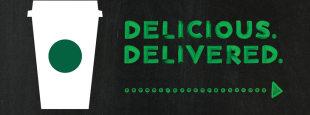 Starbucks delivery