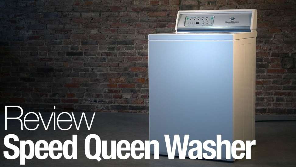 Speed Queen Awne92sp113tw Top Load Washing Machine Review