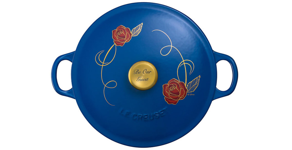 Le Creuset Has A Beauty And The Beast Themed Pot And It