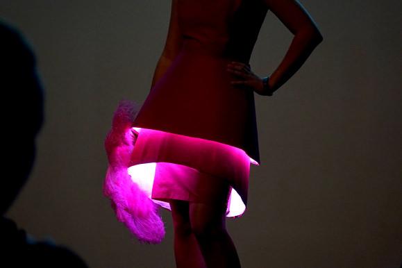 Illuminated Vintage Dress