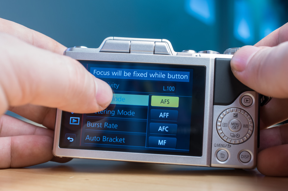 Panasonic Lumix DMC-GF7 Lumix Menu